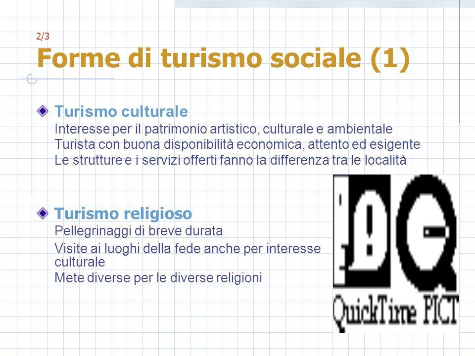 2/3 Forme di turismo sociale (1)