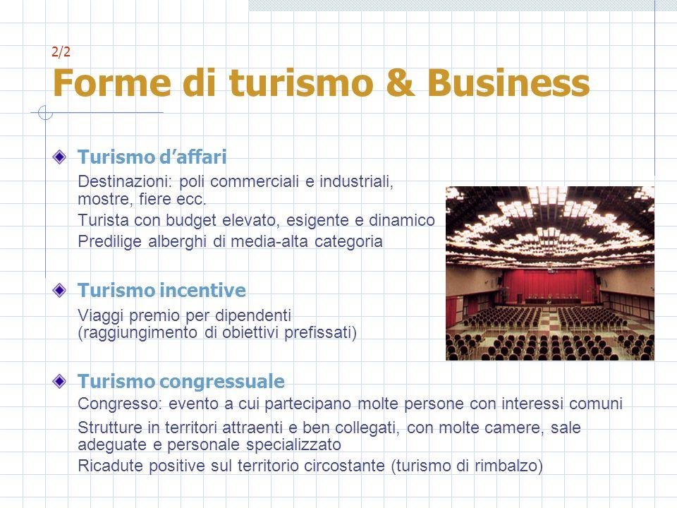 2/2 Forme di turismo & Business