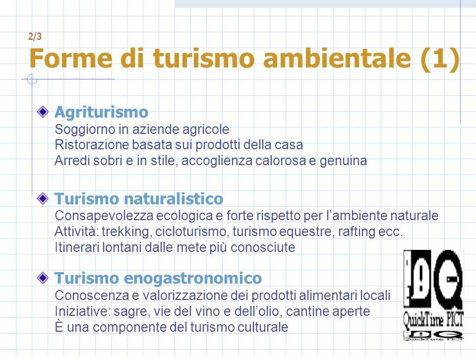 2/3 Forme di turismo ambientale (1)