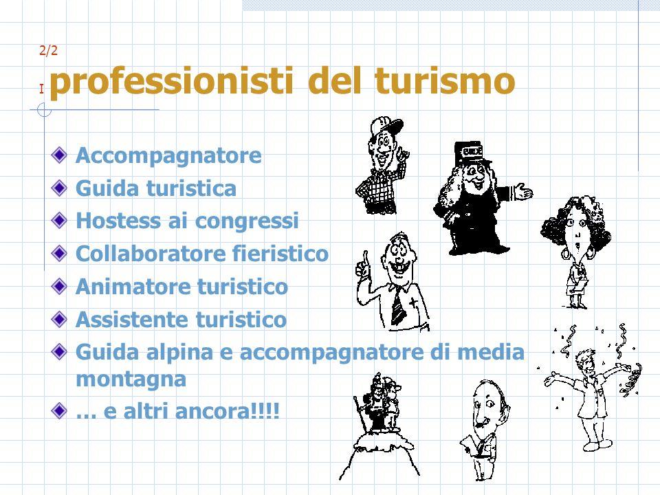2/2 I professionisti del turismo