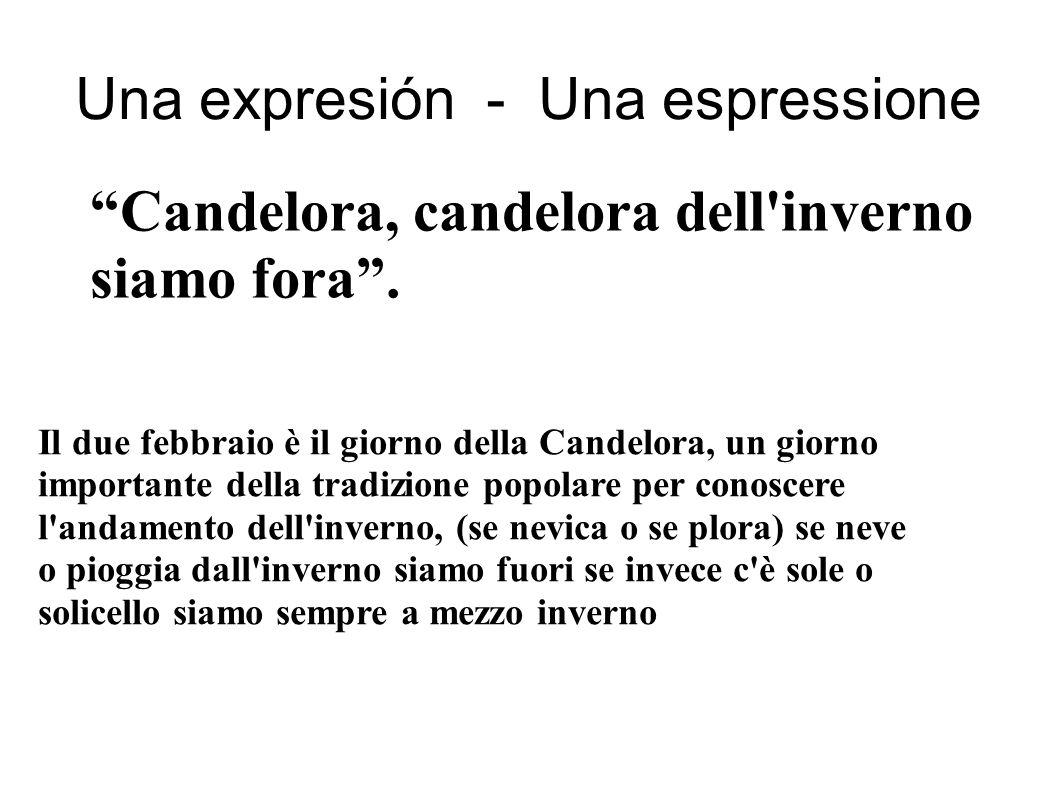 Una expresión - Una espressione