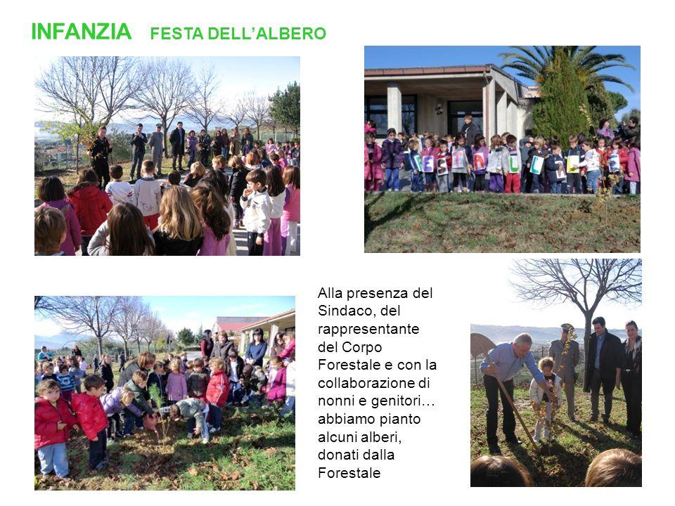 INFANZIA FESTA DELL'ALBERO