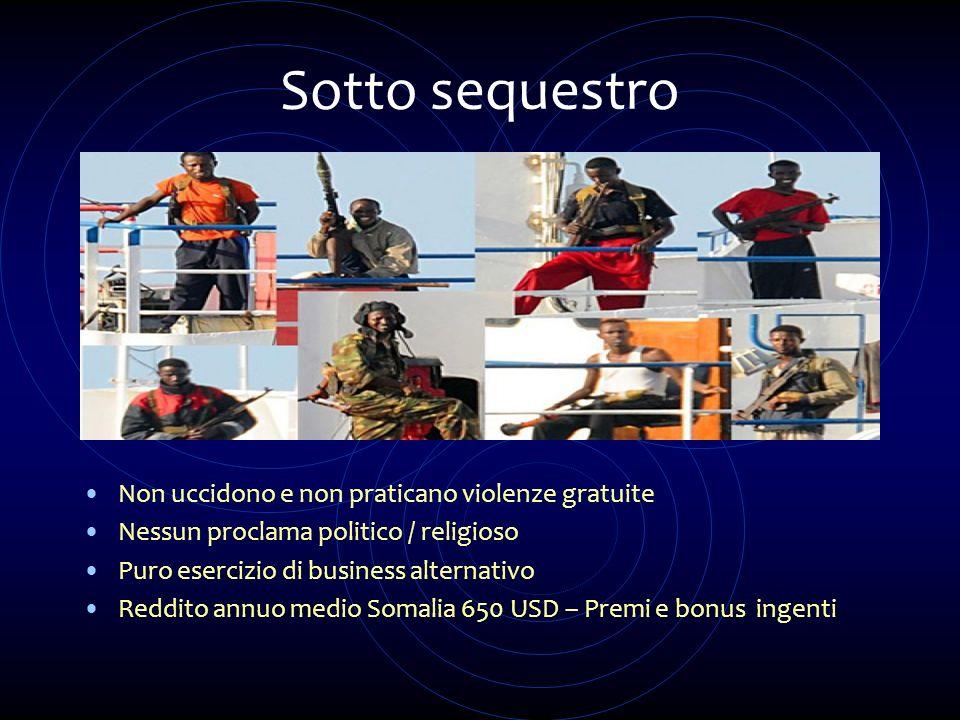 Sotto sequestro Non uccidono e non praticano violenze gratuite