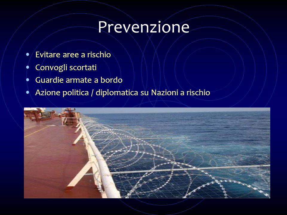 Prevenzione Evitare aree a rischio Convogli scortati