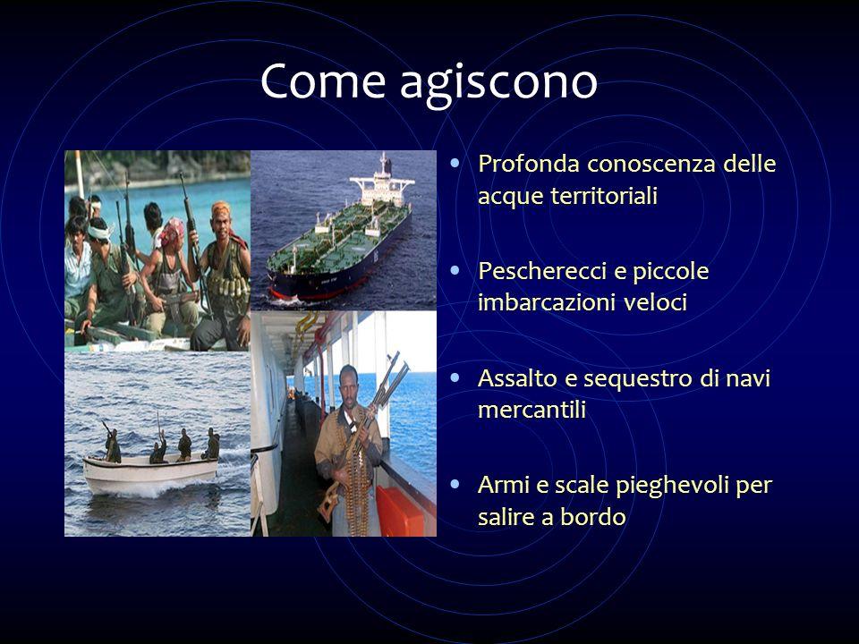 Come agiscono Profonda conoscenza delle acque territoriali
