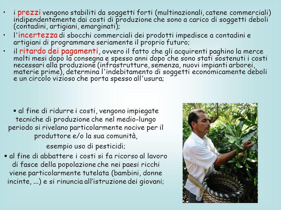 esempio uso di pesticidi;