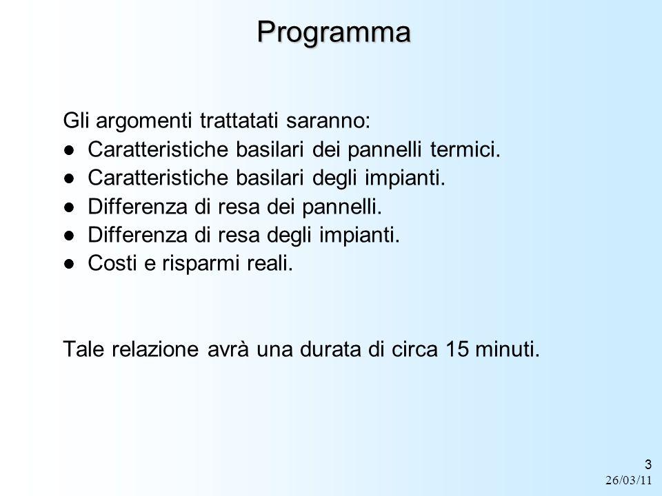 Programma Gli argomenti trattatati saranno: