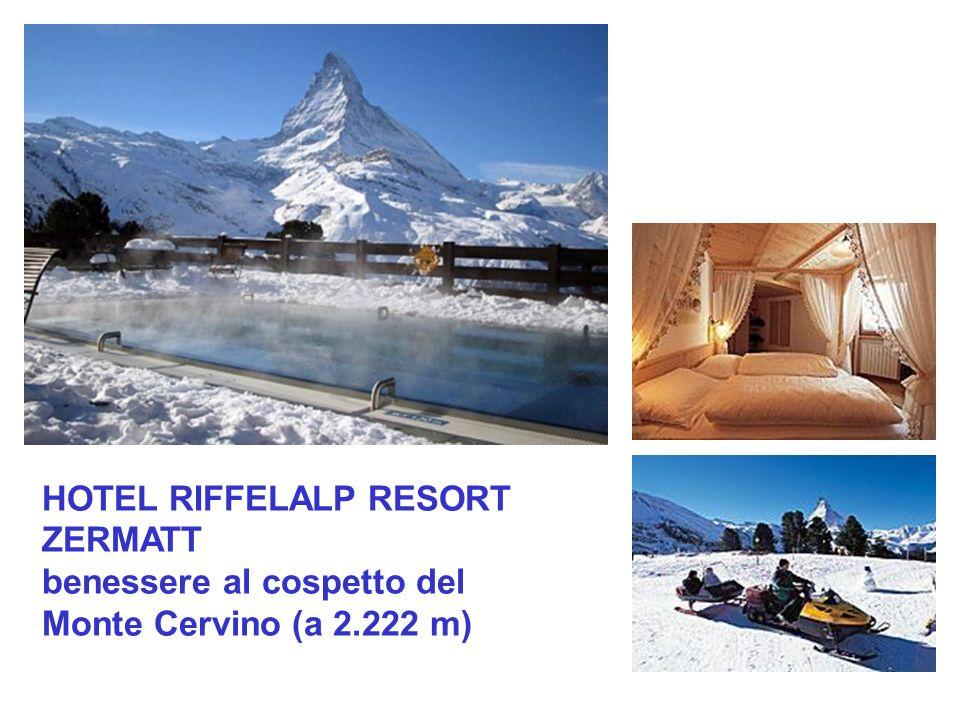 HOTEL RIFFELALP RESORT ZERMATT