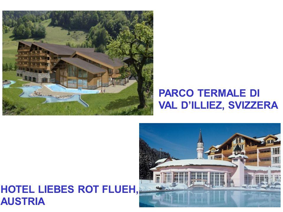 PARCO TERMALE DI VAL D'ILLIEZ, SVIZZERA HOTEL LIEBES ROT FLUEH, AUSTRIA