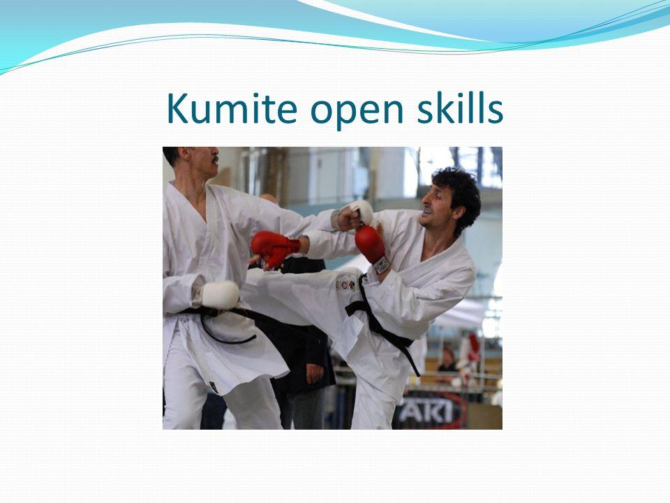 Kumite open skills