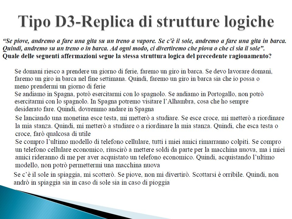 Tipo D3-Replica di strutture logiche