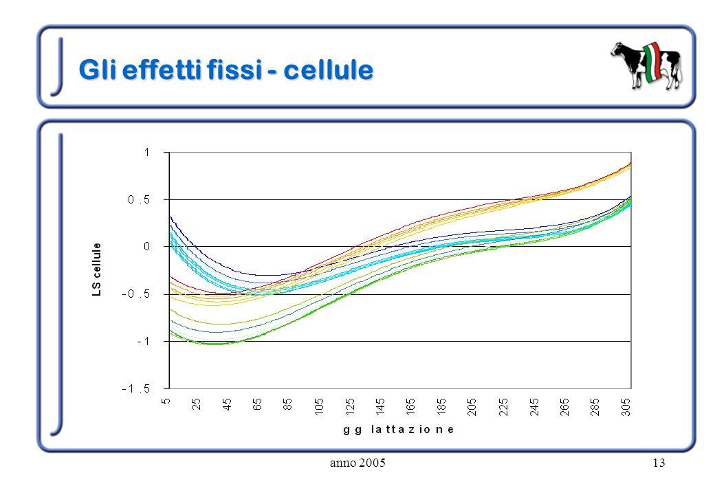 Gli effetti fissi - cellule