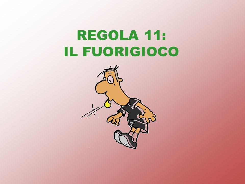 REGOLA 11: IL FUORIGIOCO
