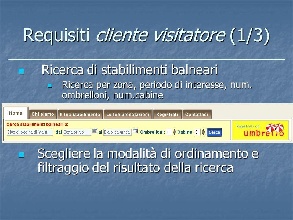 Requisiti cliente visitatore (1/3)