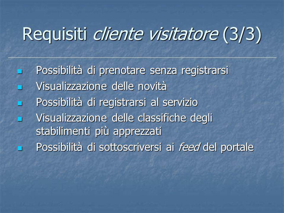 Requisiti cliente visitatore (3/3)