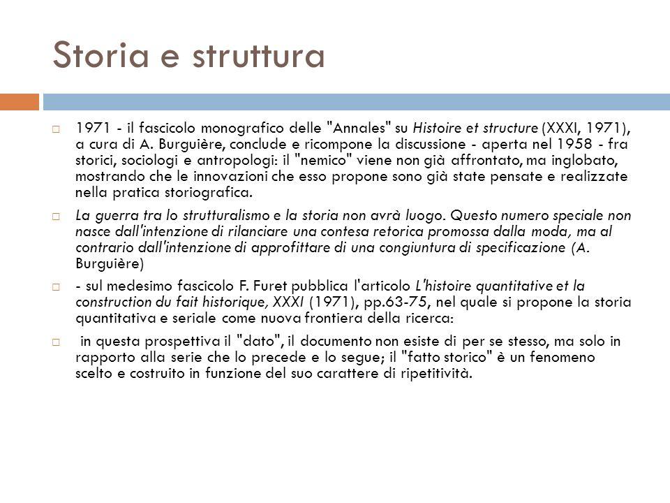 Storia e struttura