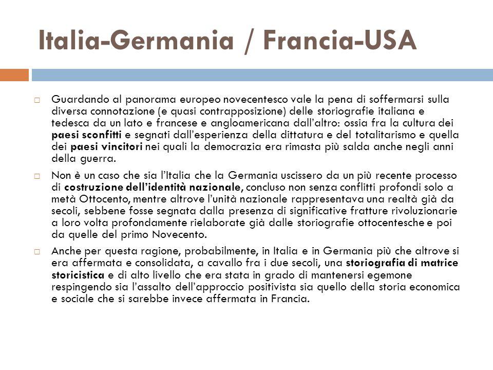 Italia-Germania / Francia-USA