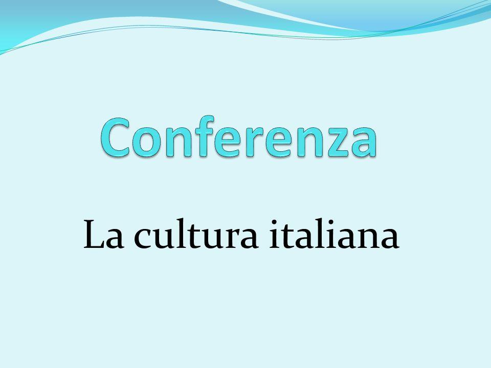 Conferenza La cultura italiana