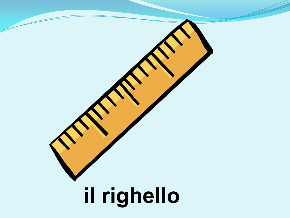 il righello
