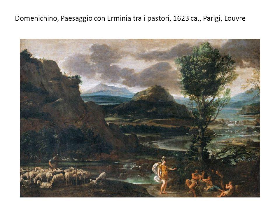 Domenichino, Paesaggio con Erminia tra i pastori, 1623 ca