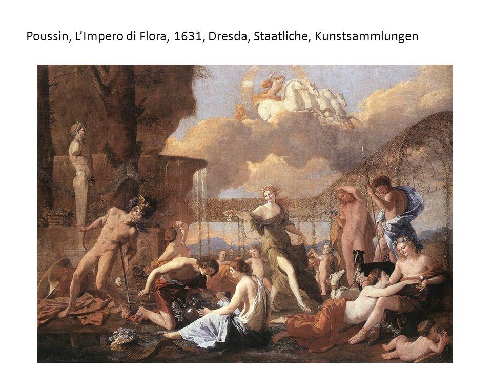 Poussin, L'Impero di Flora, 1631, Dresda, Staatliche, Kunstsammlungen