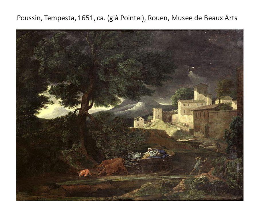 Poussin, Tempesta, 1651, ca. (già Pointel), Rouen, Musee de Beaux Arts