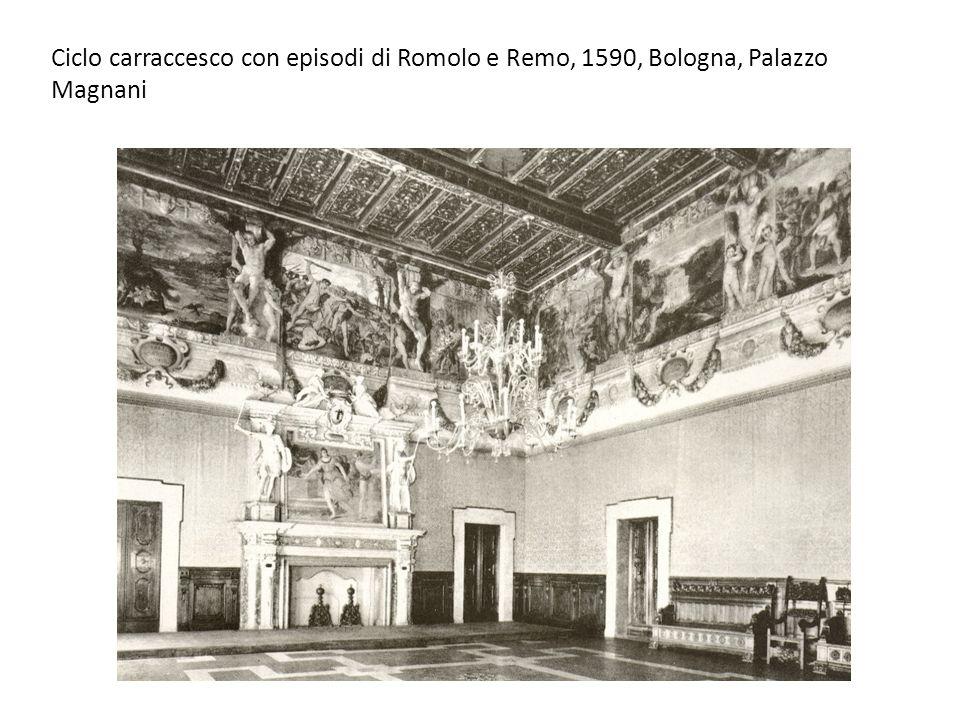 Ciclo carraccesco con episodi di Romolo e Remo, 1590, Bologna, Palazzo Magnani