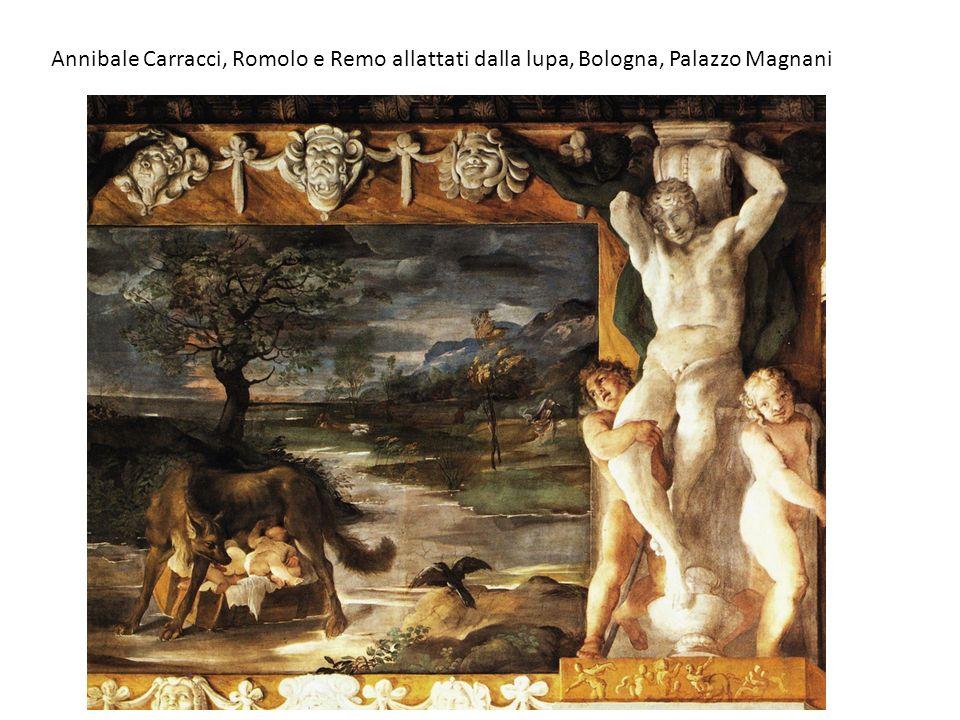 Annibale Carracci, Romolo e Remo allattati dalla lupa, Bologna, Palazzo Magnani