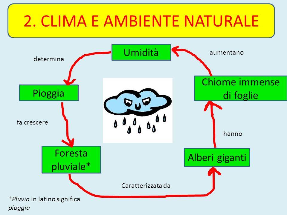 2. CLIMA E AMBIENTE NATURALE