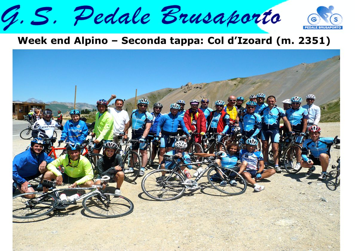 Week end Alpino – Seconda tappa: Col d'Izoard (m. 2351)
