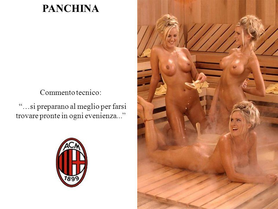 PANCHINA Commento tecnico: