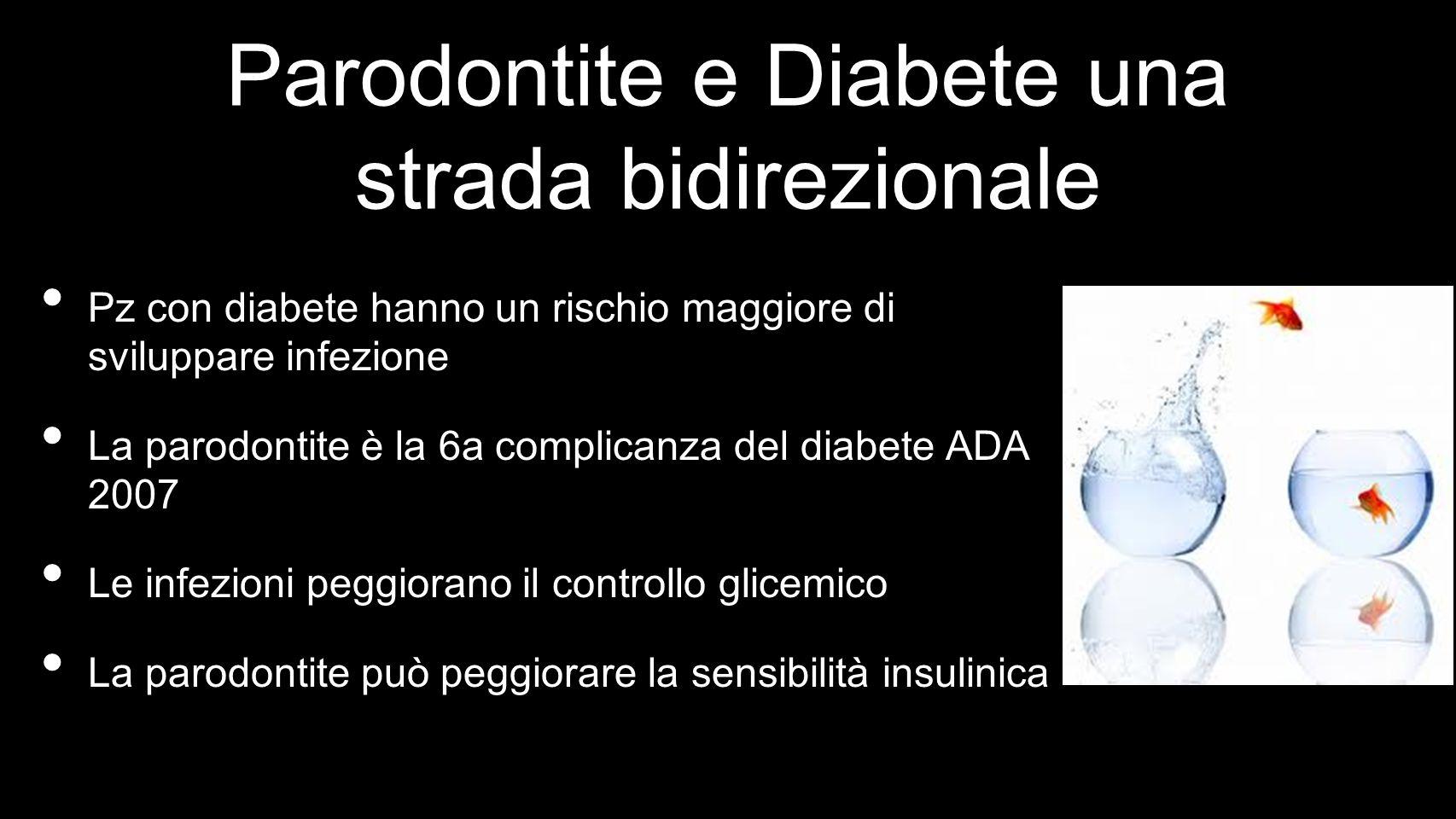 Parodontite e Diabete una strada bidirezionale