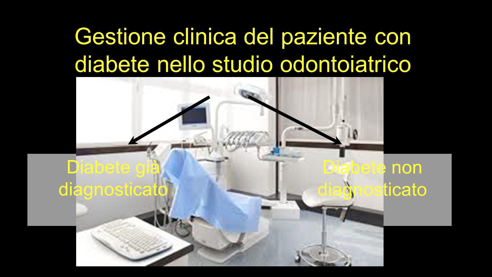 Gestione clinica del paziente con diabete nello studio odontoiatrico