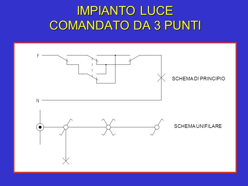 Schema Elettrico Per 3 Punti Luce : Esecuzione degli impianti luce ppt scaricare