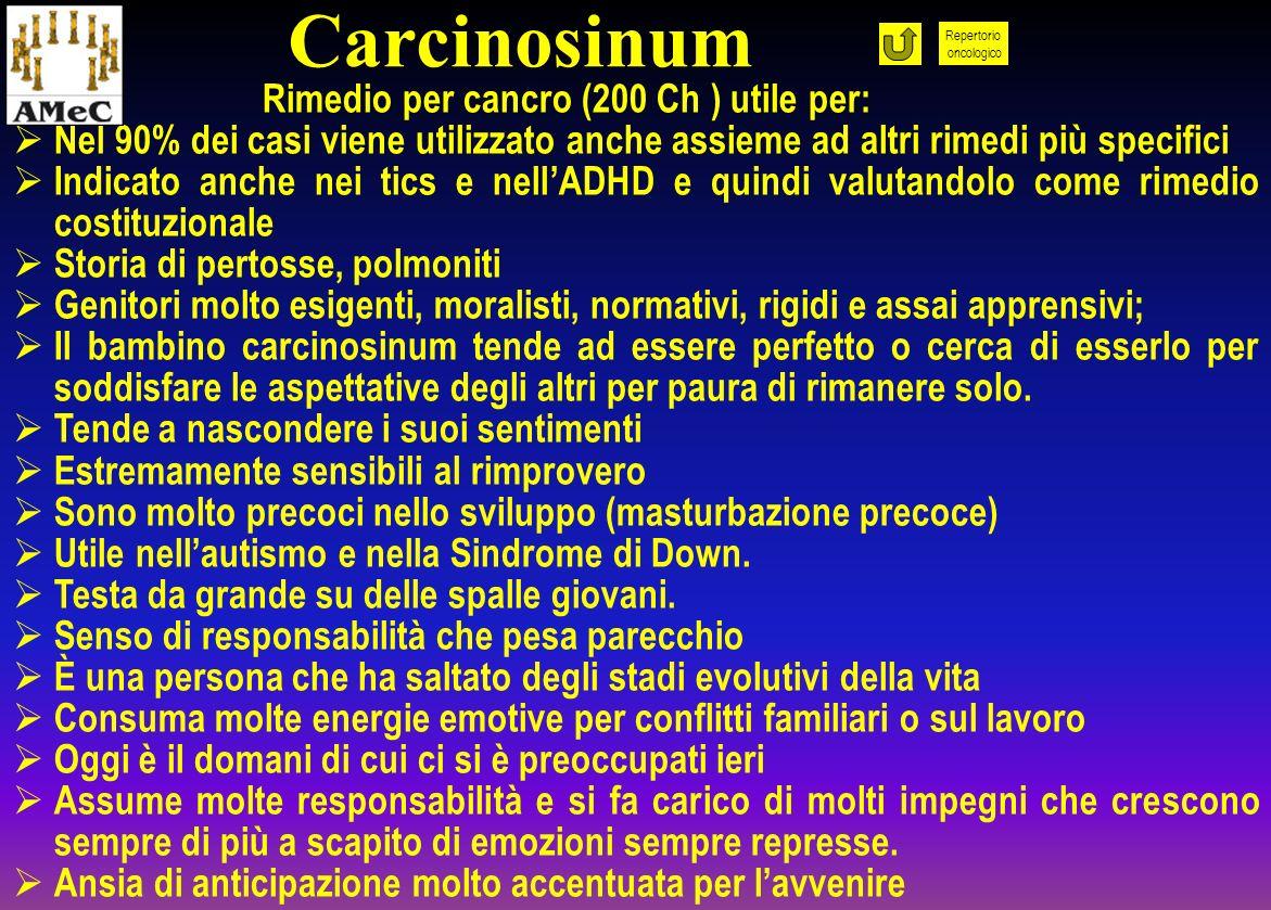Carcinosinum Rimedio per cancro (200 Ch ) utile per: