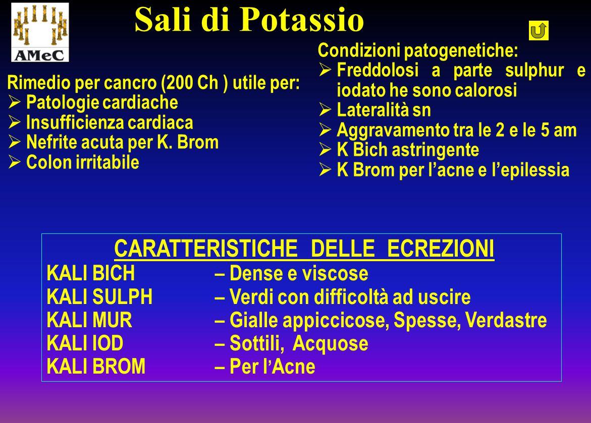 Sali di Potassio KALI BICH – Dense e viscose