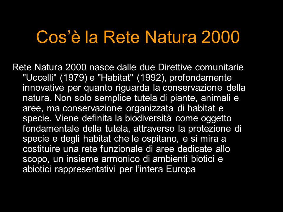 Cos'è la Rete Natura 2000