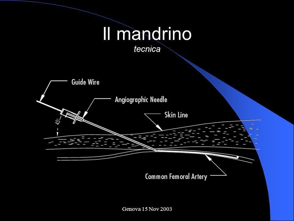 Il mandrino tecnica Genova 15 Nov 2003