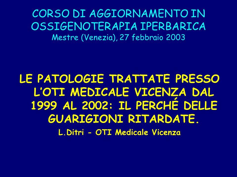 L.Ditri - OTI Medicale Vicenza