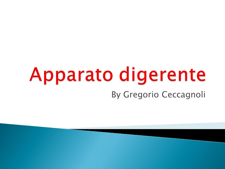 By Gregorio Ceccagnoli