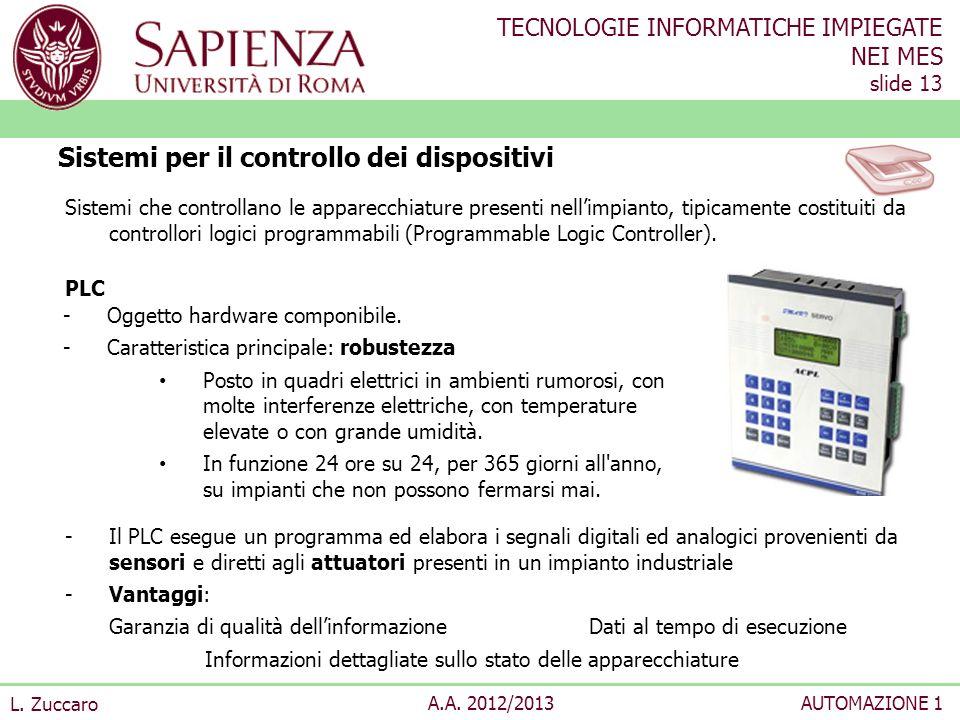 Sistemi per il controllo dei dispositivi