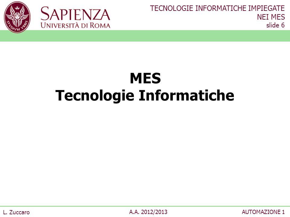 MES Tecnologie Informatiche