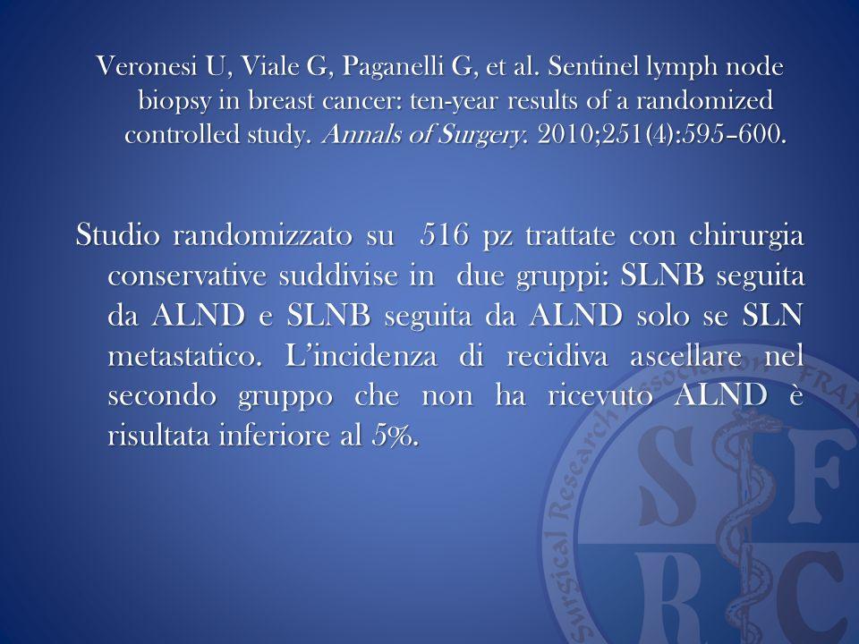 Veronesi U, Viale G, Paganelli G, et al