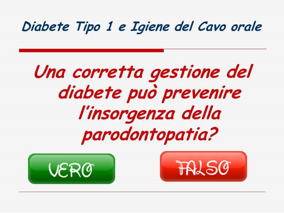Diabete Tipo 1 e Igiene del Cavo orale