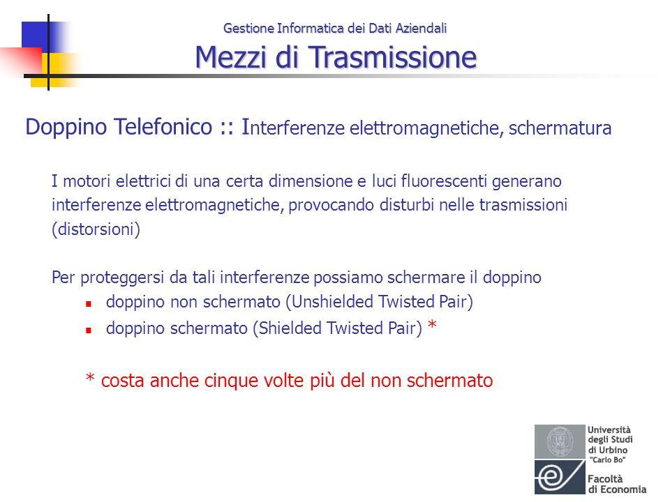 Doppino Telefonico :: Interferenze elettromagnetiche, schermatura