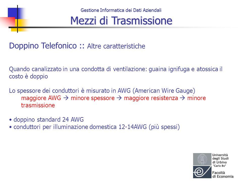 Doppino Telefonico :: Altre caratteristiche