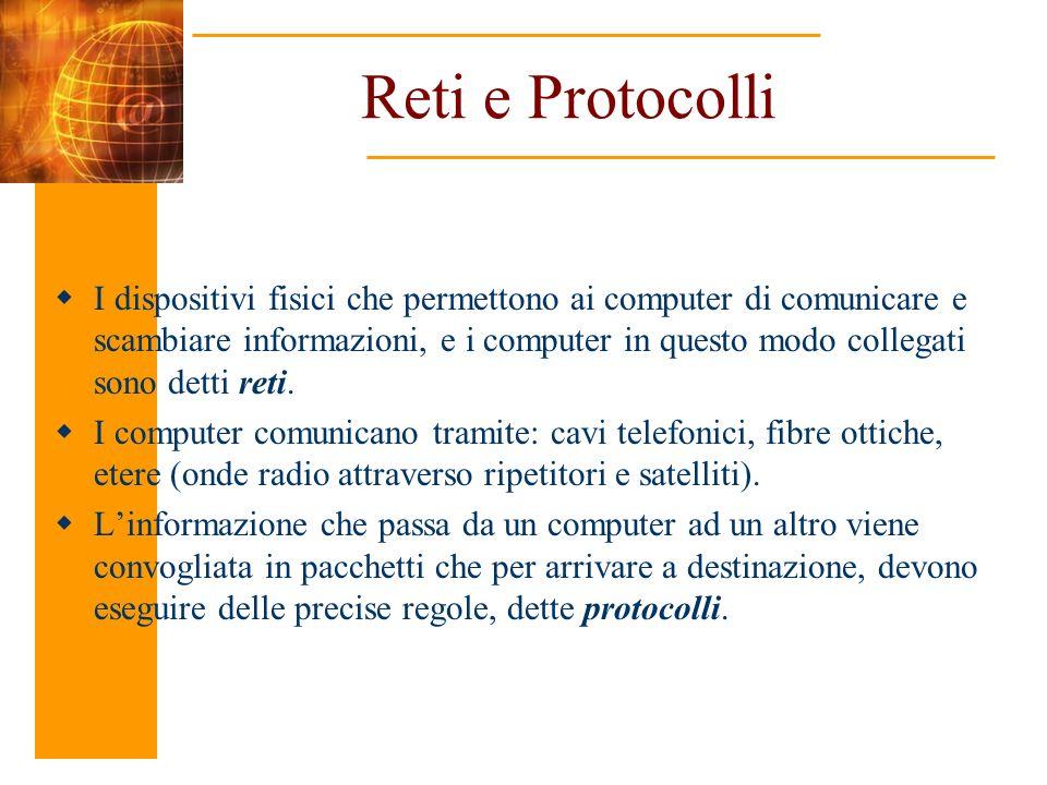 Reti e Protocolli