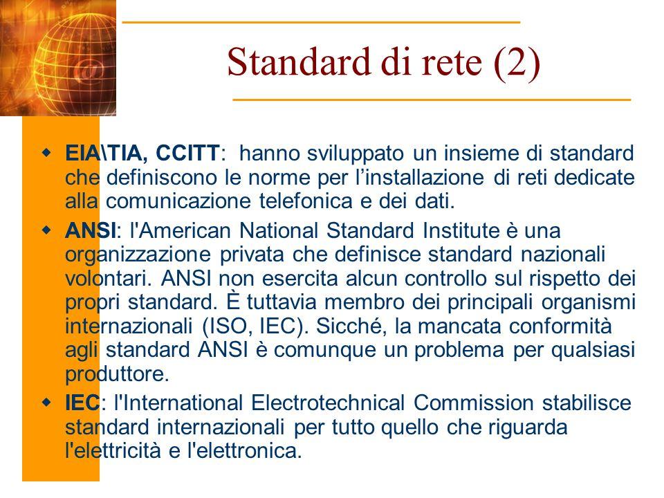 Standard di rete (2)