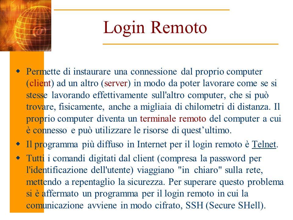 Login Remoto