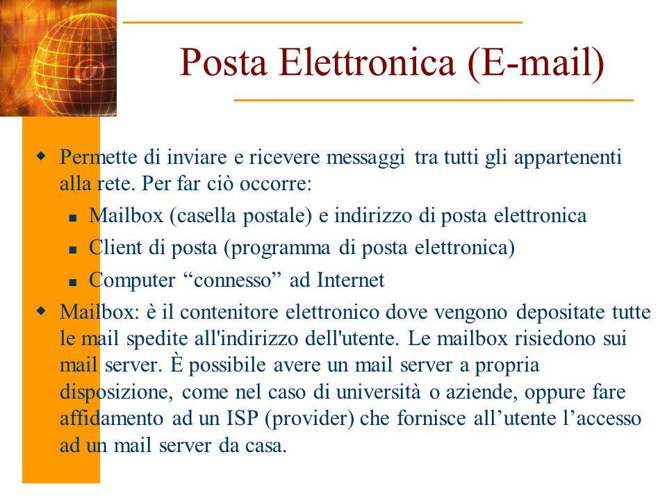 Posta Elettronica (E-mail)